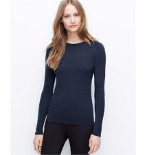 Ottoman Shoulder Sweater Ann Taylor