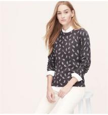 Paisley Sweater Ann Taylor Loft