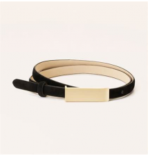 Metallic Bar Belt Ann Taylor Loft
