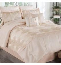 Bijox 8 Piece Comforter Set Taupe Anna's Linens