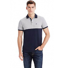 Colorblock Pique Polo Armani Exchange