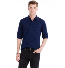 Classic Denim Shirt Armani Exchange