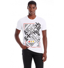 Geometric Logo Tee Armani Exchange