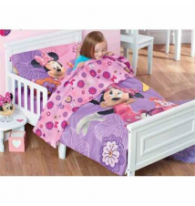 15% off Disney Minnie Mouse 4-Pc. Toddler Comforter Set Babies R Us