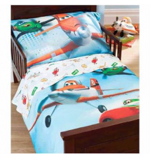 15% off Disney Planes 4-Pc. Toddler Comforter Set Babies R Us