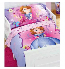 15% off Disney Junior Sofia the First 4-Pc. Toddler Comforter Set Babies R Us