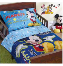 15% off Disney Mickey Mouse 4-Pc. Toddler Comforter Set Babies R Us