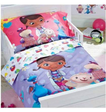 Disney Junior Doc McStuffins 4-Pc. Toddler Comforter Set Babies R Us