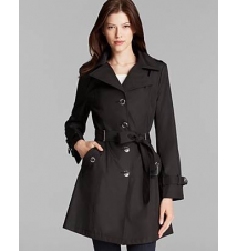 Calvin Klein Trench Coat - Hooded Belted Bloomingdale's