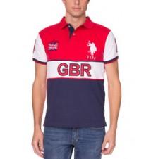 Slim Fit Team Great Britain Polo Shirt