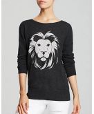 AQUA Cashmere Sweater - Lion I..