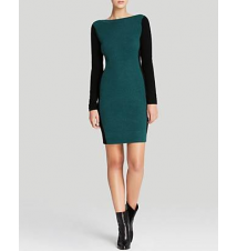 C by Bloomingdale's Color Block Cashmere Sweater Dress Bloomingdale's