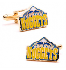 Cufflinks–Denver Nuggets Brookstone