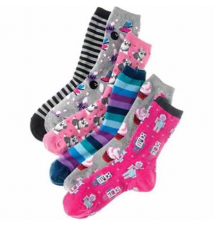 HOT SOX® For her in patterns and stripes Macy's