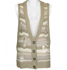 BKE Crossover Side Sweater Vest Buckle