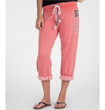 BKE lounge Slouchy Cropped Sweatpant Buckle