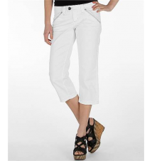 BKE Becca Stretch Cropped Pant Buckle