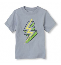 Neon Lightning Graphic Tee Children's Place