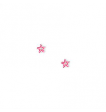 Enamel Starfish Stud Earrings Claires