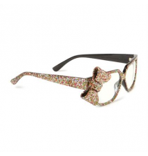 Glitter Bow Frames Claires
