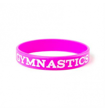 I Love Gymnastics Rubber Bracelet Claires