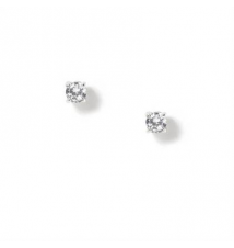 CZ Round Stud Earrings Claires