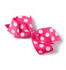 Polka Dot Ribbon Bow Hair Clip Claires