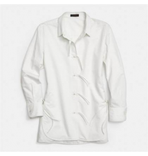 Cotton String Front Shirt Coach
