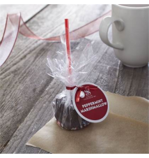 Marshmallow with Peppermint Stick Crate and Barrel
