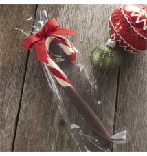 Chocolate Dipped Candy Cane Crate and Barrel