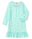 Heart Print Pajama Gown Crazy ..