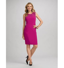 JONES STUDIO Studded Sheath Dress Dress Barn