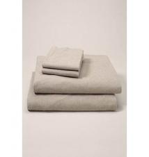Flannel Sheet Set - Heather Eddie Bauer
