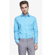 EXTRA SLIM 1MX STRETCH COTTON SHIRT Express