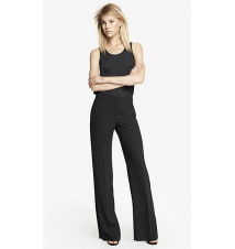 MID RISE WIDE LEG PANT Express