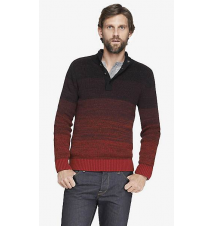 MARLED OMBRE MOCK NECK SWEATER Express