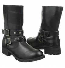 Khombu Women's Sloane Black Famous Footwear