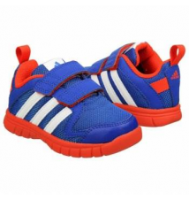 adidas Kids' Fluid Conversion Blue/Orange Famous Footwear