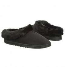 Dearfoams Women's Micro Clog Black Famous Footwear