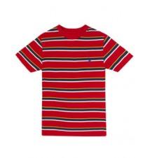 Boys Stripe Crew Neck Tee