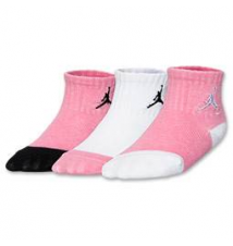 Infant Jordan Jump Cuff 3-Pack Gripper Socks Finish Line