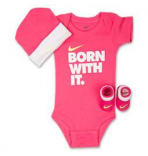 Girls' Infant Nike Born With It 3-Piece Set Finish Line