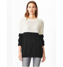 Colorblock long sweater Gap