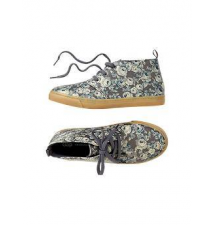 Floral mid-top sneakers Gap