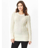 Cable knit sweater Gap ..