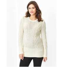 Cable knit sweater Gap