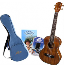 Lanikai LKP-T Koa Tenor Ukulele Pack Blemished - Like New Guitar Center