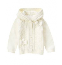 Cable Knit Bow Cardigan Gymboree
