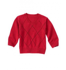Windowpane Sweater Gymboree