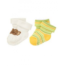 Koala Stripe Sock Two-Pack Gymboree